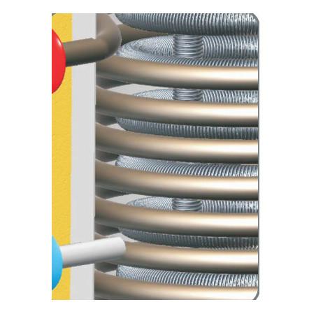 Akumulační nádrž kombinovaná s bojlerem - 2 výměníky