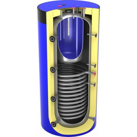 Akumulační nádrž na několik tepelných zdrojů