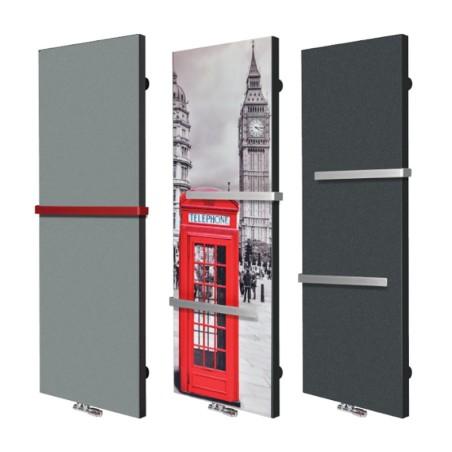 Designové radiátory pro ústřední topení