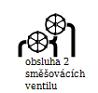 2 směšovací ventily