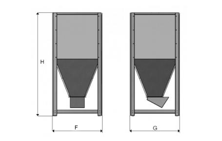 rozměry zásobník